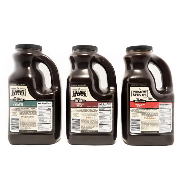 Sweet Heat 3 Pack – 1/2 Gallon