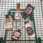 Battle of the Barbecue Sauces in shopping cart